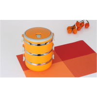 优质不锈钢保温饭盒多层 保温桶四层密封防漏学生便当餐盒