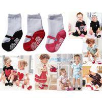 厂家批发女童袜造型新款外贸出口日本官网热卖款3色组宝宝假鞋袜