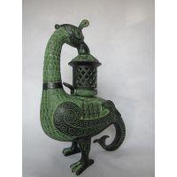 鸟灯,厂家直销,龙鼎青铜器,仿古工艺品礼品,古董收藏