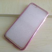 iphone6手机壳 苹果6保护套4.7电镀边框超薄TPU 软壳