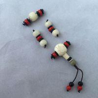 紫霞缘艺阁DIY金刚星月菩提套餐配件天然菩提根佛珠108手串藏式文玩配饰套装