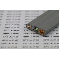 质量好的光纤复合扁电缆钢丝加强型TVVBG-OF SPC上力缆