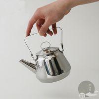日本进口 海鸥食堂北欧OPA不锈钢咖啡壶 0.5L