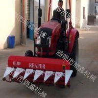 优质稻麦割晒机 家用小型收割机 四轮拖拉机带收割机割台