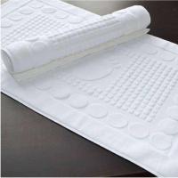 辉腾公司供应酒店纯棉客房地巾 规格颜色可定制