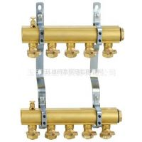 供应工程黄铜分水器、双阀分水器、球阀分水器 业日