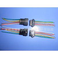 线束加工 SM 2.54-5p接线端子公母对插排线