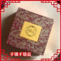 珠宝玉器吉祥红色精美木质包装盒项链盒手镯盒挂件盒首饰盒批发价