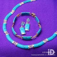 首饰套装韩版 绿松石首饰套装 项链 首饰套装饰品 可一件代发