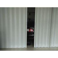 宁波美佳移动推拉伸缩折叠门PVC透明塑料折叠门厨房客厅卫生间阳台