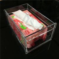 Believe 透明亚克力沉盖式抽纸巾盒 简约大方,食品级亚克力制