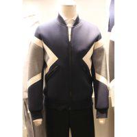 2015韩国东大门春季新款 进口男装批发 简约显瘦拼色棒球服外套