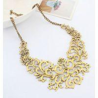 H325 时尚明星款金属质感假领子 项链批发 速卖通热卖饰品