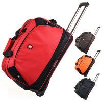 批发大容量手提拉杆包韩版旅行袋潮男女行李包商务登机包户外大包