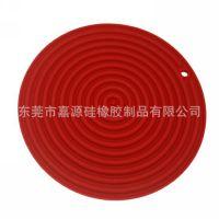 硅胶厨房用品隔热垫 圆形硅胶餐垫 硅胶杯垫