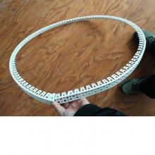 夏博牌pvc弧形护角条 护墙角 弧形护角线条,可以弯曲的阴阳角
