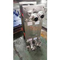 上海艾保山东省枣庄市市中区各种型号材质可拆板式换热器厂家、地暖专用换热器、蒸汽-水水板换机组