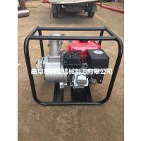 无电场所汽油机抽水泵 菜园抽水泵 四冲程自吸水泵 润众