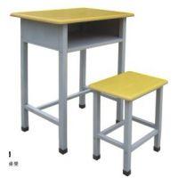 供应学生课桌凳,钢木结合课桌椅,单人课桌凳