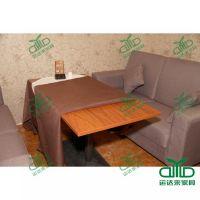 深圳餐厅多人位餐桌 实木餐桌椅子定制 量大从优 运达来