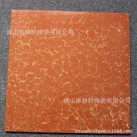 大红普拉提系列地板砖/瓷砖 600*600mm客厅卧室抛光砖 耐磨易清洗 楼梯砖