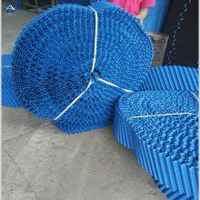 圆形PVC改性冷却塔填料 冷却塔散热胶片原料加工质量保证 河北华强