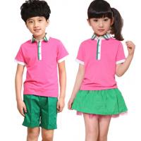 夏季园服定制 幼儿园校服定做 恒宇服装新款园服批发