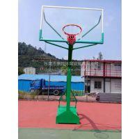 什么牌子固定式篮球架好用东莞康腾专业厂家室外移动式篮球架