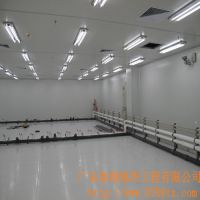 泰翔地坪承接广东PVC防静电优质地板铺设工程