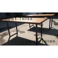 上海韩尔品牌工厂 直销餐饮店餐桌椅 餐饮店实木餐桌椅 餐厅桌椅定制