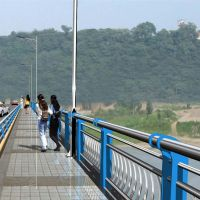 常州免维护不锈钢桥梁护栏 立柱配件齐全