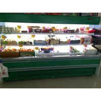 PBG-25超市冷藏展示柜 水果风幕柜 商用敞开式风冷冰柜
