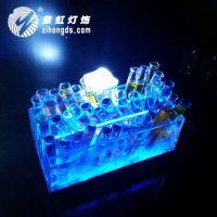 紫虹试管杯架 LED充电 夜场用品 KTV洋酒