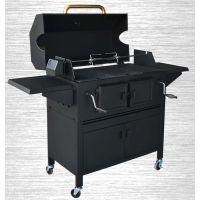 酒店用御狮C52001可调式大型冷轧燃炭烧烤炉户外大型烧烤炉