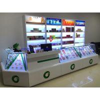 新款烟柜烟草展示玻璃柜台高档木质烤漆展示柜厂家销售
