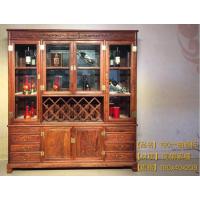 名琢世家刺猬紫檀古典中式酒柜价格