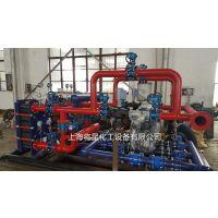 上海将星厂家可拆卸式宽通道板式换热器