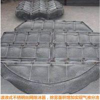 波浪形除沫器生产厂家 不锈钢 HG/T21586-1998标准型丝网 安平上善