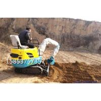 九台市树坑挖坑机 小型挖掘机 浩鸿迷你小挖