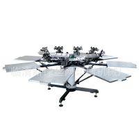 供应新锋服装印花机 套色丝网印刷设备 精密丝网印刷机 家用印花机