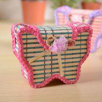 竹子小包,韩版时装挂包,女士小孩竹艺工艺品单肩包钱包
