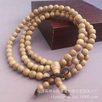 厂家批发 新料金丝楠佛珠手串 108颗楠木佛珠手链念珠 长期供应
