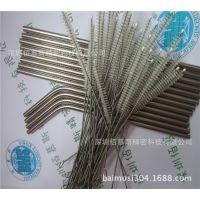 韩国流行不锈钢吸管 外国出口304不锈钢吸管 折弯压线吸管