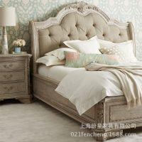 卧房四件套 床 床头柜 梳妆台定制定做
