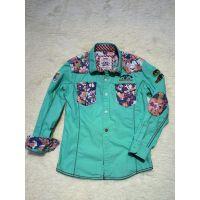 欧美原单长袖儿童衬衫外贸童装批发2015新款童衬衫纯棉男童衬衣潮