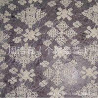 厂家直销 新款水溶刺绣面料 重工蕾丝 大机绣 牛奶丝 纺织辅料