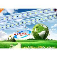 鑫烨光电供应5050LED硬灯条 5050带铝槽灯条 低压灯带DC12V 60颗一米