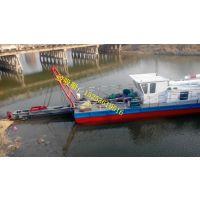 云南红河下抽8米绞吸式抽沙船价格