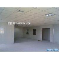 深圳石岩厂房装修隔墙_石膏板轻质砖隔墙多少钱一平方