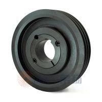 spc375-3气泵皮带轮选无锡帛扬锥套皮带轮厂家